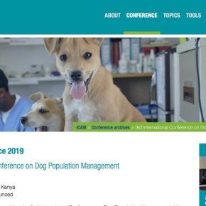 3rd International Conference on Dog Population Management - ICAM